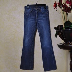 7 For All Mankind Bootcut Straight Leg Denim Jeans